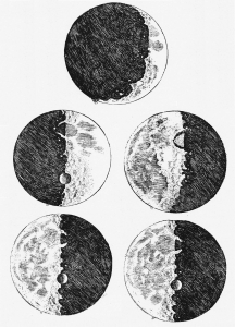 Galileo's etchings, Sidereus Nuncius